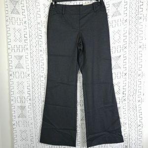 4/$30 Ann Taylor Fit & Flare Grey Dress Trouser